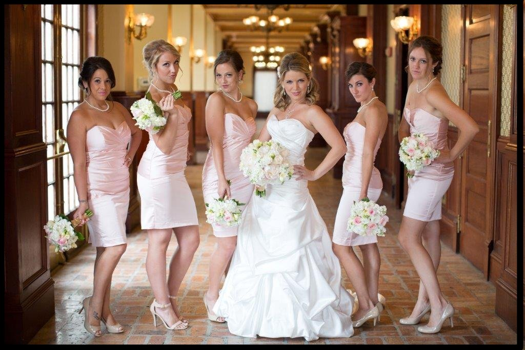 Bridesmaids Wedding Hair Makeup Winter Park