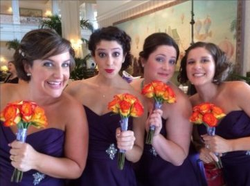 Bridal Party Hair and Bridal Make Up